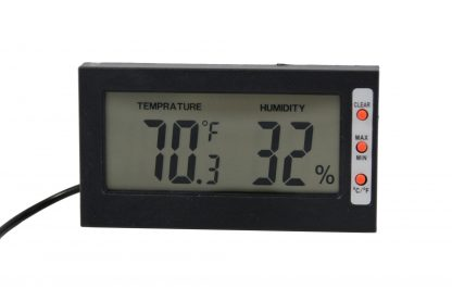 Digital Thermometer and Hygrometer Thermometers