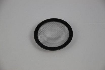 2 Inch Black Round Aluminum Tab Vent Cage Decoration