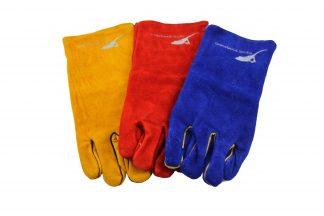 Large Leather Reptile Handling Gloves Gloves