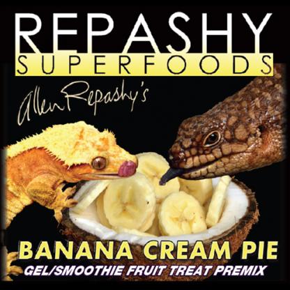 Repashy Banana Cream Pie Fruit Treat Gel Food Premixes