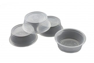 Disposable Food & Water Dishes