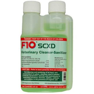 F10SCXD Veterinary Cleaner-Sanitizer- 200ml F10 Products