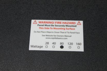 Vivarium Electronics 40 Watt Radiant Heat Panel Radiant Heat Panels