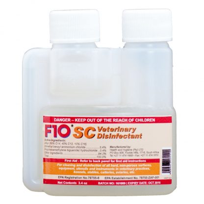 F10SC Veterinary Disinfectant- 100ml F10 Products