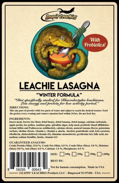Leapin Leachie Leachie Lasagna Leapin Leachies Diets