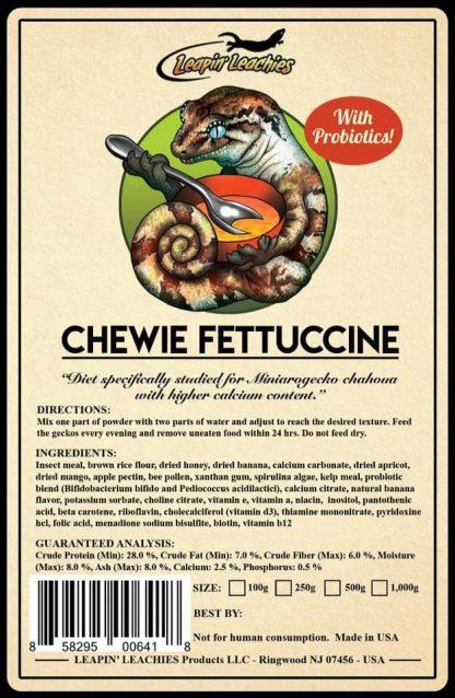 Leapin Leachie Chewie Fettuccine Leapin Leachies Diets