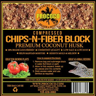Prococo Compressed Chips-N-Fiber Substrate