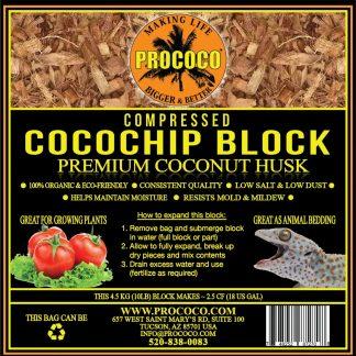 Prococo Compressed CocoChip Block Substrate
