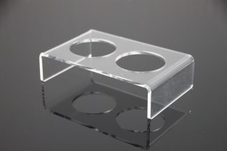 Acrylic Food Stand Large Elevated