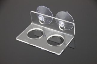 Suction Cup Feeding Ledge – Small/Double Elevated