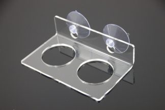 Suction Cup Feeding Ledge – Large/Double Elevated