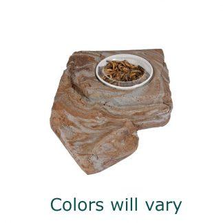 Large Worm Feeder Rock Bowls