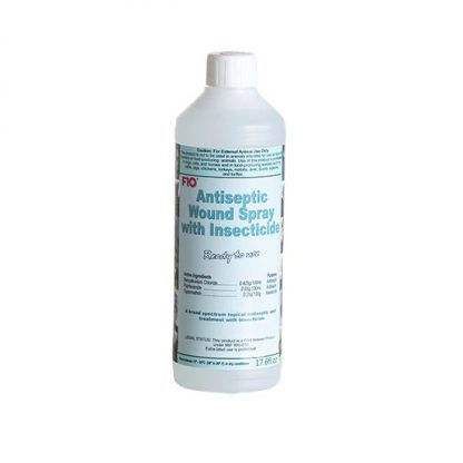 F10 Antiseptic Wound Spray with Insecticide – 17.6oz/520ml F10 Products