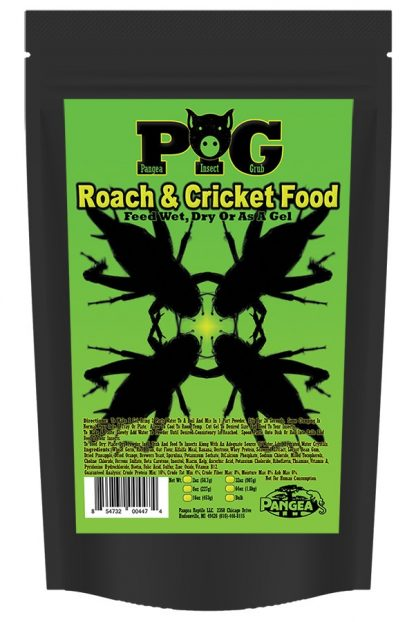 Pangea Roach & Cricket Food (PIG) Insect Supplies