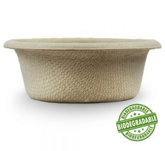 1.5oz Biodegradable Food & Water Dish Biodegradable
