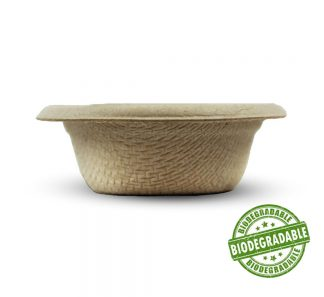.5oz Biodegradable Food & Water Dish Biodegradable